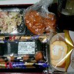 帰りにマックスバリュでサーモンの巻き寿司を買ったりな夜勤1日目