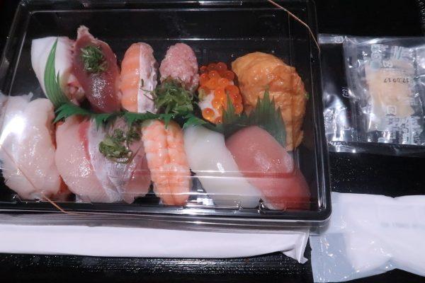 しーじゃっくのお持ち帰り寿司