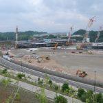 (2017年6月版)グリーンフォートそらののイオン建設現場を見てきました