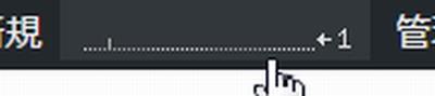 Wordpressにログインした状態でサイトにアクセスされると表示される48時間のアクセス数の推移