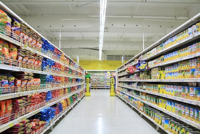 どのスーパーもこれぐらい広けりゃいいんだけど
