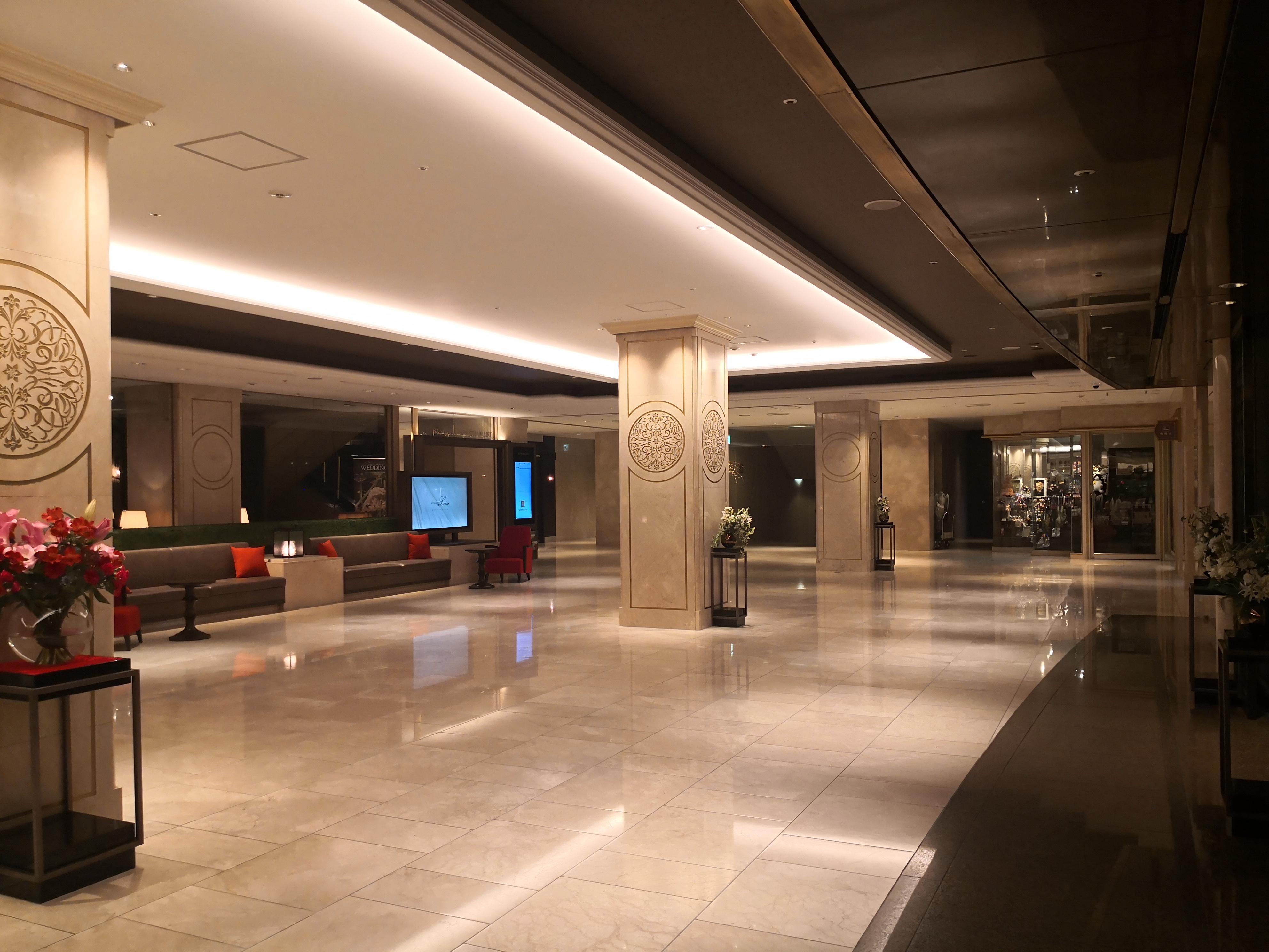 名古屋東急ホテルロビーの様子